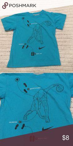 Nike Shirt Teal  short sleeve shirt with design. Nike Shirts & Tops Tees - Short Sleeve