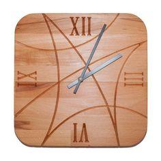 Design Wooden Clock from IdealWood by DaWanda.com