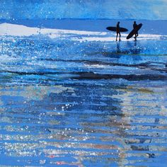 Constantine Bay, Essence of August. Original Painting Donated - Print Available.