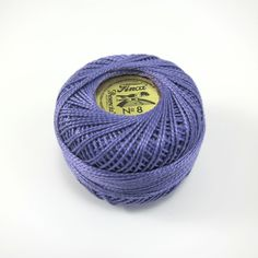 Lavender Finca Perle Cotton Thread