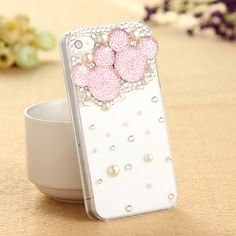 Pink Mickey iPhone Case