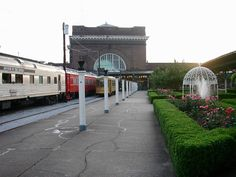 Chattanooga, TN : Terminal Station. This is the station which today is known as the Chattanooga Choo Choo Hotel.  Sure it was a happening place in its time!