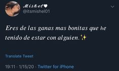 Twitter Quotes Funny, Tweet Quotes, Funny Quotes, Fact Quotes, Mood Quotes, Life Quotes, Instagram Captions For Friends, Instagram Quotes, Cute Spanish Quotes