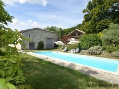 Country house / Manoir for sale in Lot-et-Garonne, France : A highly desirable 5- bedroomed stone property with outbuildings and pool,