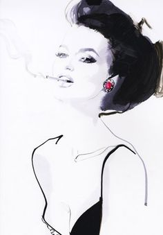 I can appreciate who ever drew this, cause I'm forever tryna draw a beautiful female smoking, it ain't easy let me tell you!