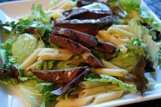 Grilled Venison and Pasta Salad from thelocalcook.com
