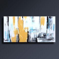 Il sagit dune peinture acrylique sur toile non tendue. Cela sera expédié directement de mon studio. Cette peinture arrive non étirée roulée dans un tube protégé!!! Titre : AB53 nous Taille de limage : 48 x 24 pouces Toile taille totale : 54 x 30 pouces (taille + 6 pouces pour étirer limage : 1,5 - 1,5 pouce peint, 1,5-1,5 pouces blanc) Toutes mes peintures sont terminées par une couche semi qui ajoute un éclat subtil et protège votre investissement. Artiste : Imre Toth (Emerico) Sig...