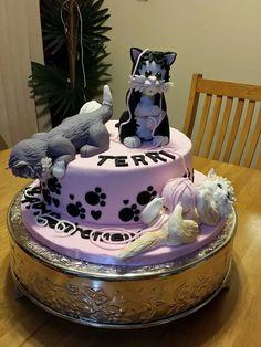 Cats cake Irma'scookies by  Irma Garcia