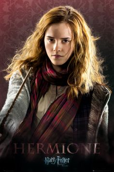 Emma Watson.  Harry Potter and the Deathly Hallows - Hermione Póster