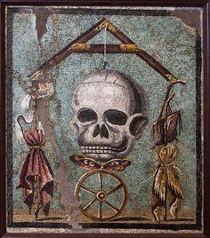 Ruota della fortuna (Memento Mori) -roue de la fortune memento mori - Museo archeologico nazionale di Napoli -
