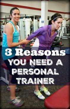 Hiring a personal trainer can help you crush your fitness goals. Check out these 3 Reasons You Need a Personal Trainer.