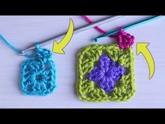 Crochet Granny, Knit Crochet, Crochet Earrings, Christmas Ornaments, Knitting, Holiday Decor, Youtube, Tips, Tricot