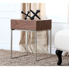 Shop for ABBYSON LIVING Verona Walnut End Table. Get free shipping at Overstock.com - Your Online Furniture Outlet Store! Get 5% in rewards with Club O!
