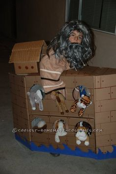 Noah's Amazing Ark Costume... This website is the Pinterest of Halloween costumes for kids