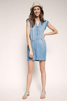 edc - Kleid in Denim-Optik im Online Shop kaufen