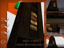 Urban Mega Building 12 impact Full perm