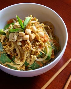 High Protein, Low Carb Pad Thai
