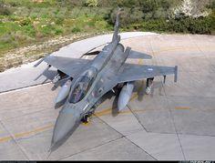 Hellenic Air Force (HAF) (Πολεμική Αεροπορία, Polemikí Aeroporía): Lockheed Martin F-16CJ Fighting Falcon