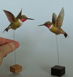 CASITA DE PAPEL: Dollhousepaper: Colibries by Johanscherft