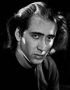 Nicolas Cage photographed by Michael Tighe, 1980's.