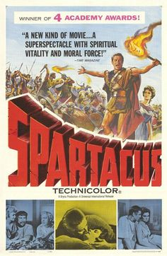 Spartacus...1960 Composer: Alex North Easily scoring a place on American Film Institute's list of greatest film scores, Alex North's work was also recognised with an Oscar nomination. His true masterstroke was gathering an assortment of antique instruments that allowed him to craft music that sounds as though it came from Roman times. North's experimental ways proved a winner, and the result is a classic historical epic score that few others can match.