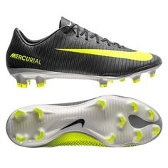 e186dfa0055 Nike Mercurial Vapor XI CR7 FG Soccer Cleats (Seaweed Volt Hasta White)