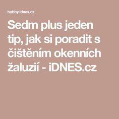 Sedm plus jeden tip, jak si poradit s čištěním okenních žaluzií - iDNES.cz