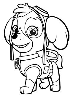 Explore Paw Patrol Coloring Pages. the Best Free Printable Paw Patrol Coloring Pages Collections. Discover Anti-stress Paw Patrol Coloring Pages Included Random Difficult Levels and Print them all Easily. ONLY COLORING PAGES Everest Paw Patrol, Sky Paw Patrol, Rubble Paw Patrol, Paw Patrol Party, Paw Patrol Birthday, Free Printable Coloring Pages, Coloring For Kids, Coloring Pages For Kids, Coloring Sheets