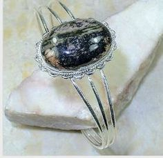 Items similar to Rhodonite 925 Silver Overlay Cuff Bracelet - Adjustable on Etsy Coupon Codes, Overlays, 925 Silver, Numbers, Etsy Shop, Free Shipping, Trending Outfits, Unique Jewelry, Handmade Gifts