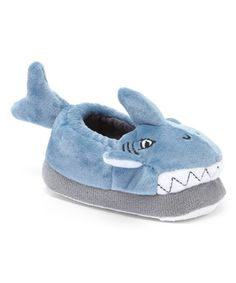 d181c458056 Blue Shark Slipper  shark  slippers  boys