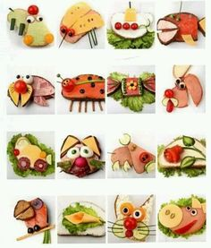 I love creative food!