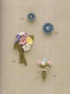 #ClippedOnIssuu from Crochet flower corsage