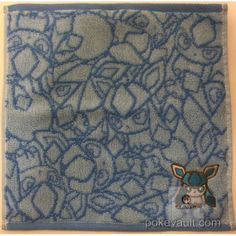 """Pokemon Center 2017 Eevee Collection """"Dolls"""" Glaceon Mini Hand Towel"""