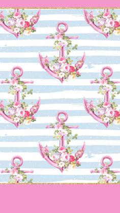 Anchor Wallpaper, Nautical Wallpaper, Glitter Wallpaper, Pink Wallpaper, Mobile Wallpaper, Pattern Wallpaper, Locked Wallpaper, Computer Wallpaper, Cellphone Wallpaper