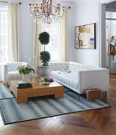 Is that a coffee table? Why is this called a coffee table? The coffee table seems to be the center of the room, so you have to design it in such Modern Living Room Table, Living Room Modern, Living Room Interior, Home And Living, Living Room Furniture, Living Room Designs, Home Furniture, Living Room Decor, Living Rooms
