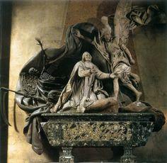 Funeral Monument to Languet de Gergy René-Michel Slodtz, 1753 Saint-Sulpice, Paris, France Sculpture, Marble