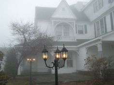 The fog is an illusion— A master of disguise, Which hides the tangible Before our very eyes....
