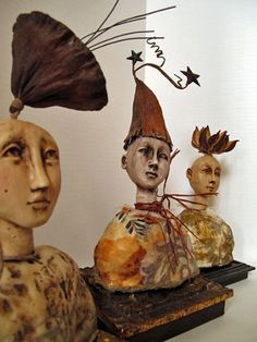 Pod Head Doll 1-day class with Lisa Renner-wish I could go!!!