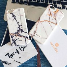 White Onyx Marble iPhone Cover by Madotta | This fashionable marble artwork is available for iPhone 7, 7 Plus, 6 / 6s, 6 Plus / 6s Plus, 5s / 5C, SE & some Samsung Galaxy S devices. Exclusive Design. Made in the UK. Worldwide shipping available. Fashionable iPhone 7 Cases  #madotta Click to see more at https://madotta.com/collections/marble-iphone-cases/?utm_term=caption+link&utm_medium=Social&utm_source=Pinterest&utm_campaign=IG+to+Pinterest+Auto