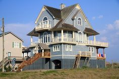 My favorite house EVER on the island! I always loved this house. It's on my vacation home bucket list! Topsail Island here I come!