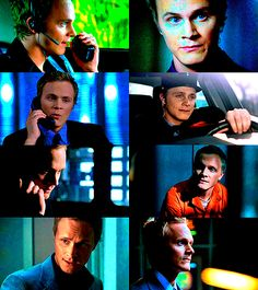 David Anders (AKA Julian Sark).  All the villains are caught or killed except him.  He's the villain that always gets away. - #Alias