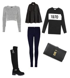 """Untitled #516"" by marxendjie on Polyvore featuring rag & bone, Bella Freud, H&M, women's clothing, women's fashion, women, female, woman, misses and juniors"