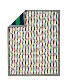 40% off #hannaandersson neeeeeed for baby boy nursery! Reversible Rugby Stripe Quilt | Quilts, Blankets & Throws