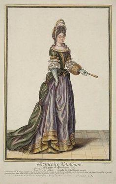 Francoise d' Aubigné, Marquise de Maintenon by Nicolas Arnoult | Grand Ladies | gogm