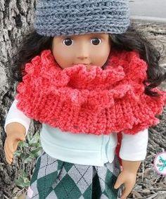 My Dolly Ruffled Ruana - free crochet pattern by Celina Lane for CraftCoalition.com