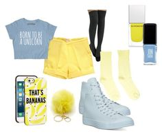 """""""School Set #12"""" by small-and-cute on Polyvore featuring Kate Spade, Converse, Givenchy and JINsoon"""
