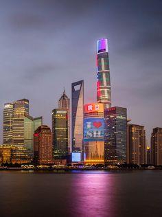 Descubre Tu Mundo : Arquitectura: megatorre «Shanghai Tower» detalles de una obra icónica