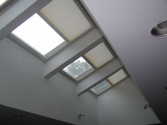Duette remote control skylight shades. Keep the light, temper the heat and fading!