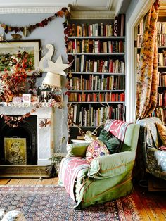Stylist Maude Smith has turned her artistic hand to every inch of this Victorian townhouse in Stockwell - Living - Maude Smith& south London house full of colourful art and craft Room, House, Arts And Crafts House, Interior, Home Crafts, London House, Home Decor, House Interior, Victorian Townhouse