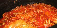 Crock Pot Catalina Chicken, low 6-8 hours. Sounds so good!